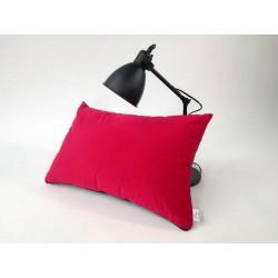 Poduszka dekoracyjna granatowa , czerwona od ROSSI FURNITURE