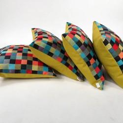 Poduszki 4 szt. tkanina Barcelona Poduszka dekoracyjna Rossi Furniture