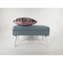 Ławka LOVARE Ławeczka ze schowkiem szara od Rossi Furniture