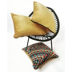 Poduszka dekoracyjna kolorowa wzory  Rossi Furniture  Komplet poduszek dekoracyjnych 3 sztuki !!!!