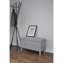 Kuferek Toskania, ławka z pojemnik pod wymiar