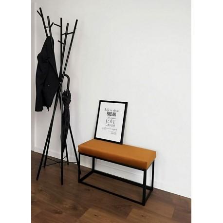 Ławka industrialna MATERIA LOFT miodowa od Rossi Furniture pod wymiar