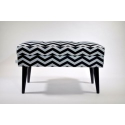 Ławka LOVARE ze schowkiem ZYGZAK ławka wzory od Rossi Furniture