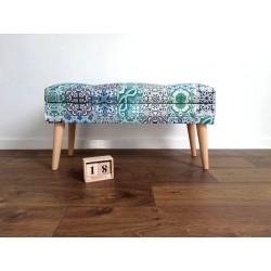 Ławeczka LOVARE styl marokański od ROSSI FURNITURE