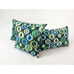 Poduszki dekoracyjne wzory geometrychna Rossi Furniture AMBER