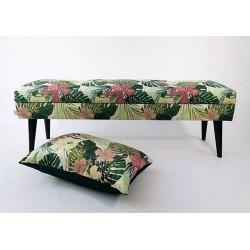 Lovare ławka motyw liściasty 120 cm Rossi Furniture