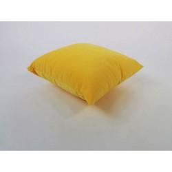 Żółta poduszka dekoracyjna 40 x 40 Rossi Furniture