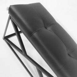 Ławka New Design w eko skórze styl loft  ławka industrialna Ławeczka od Rossi Furniture